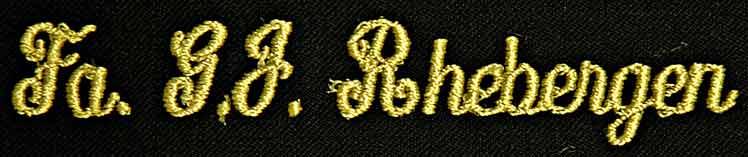 borduur letter cursief