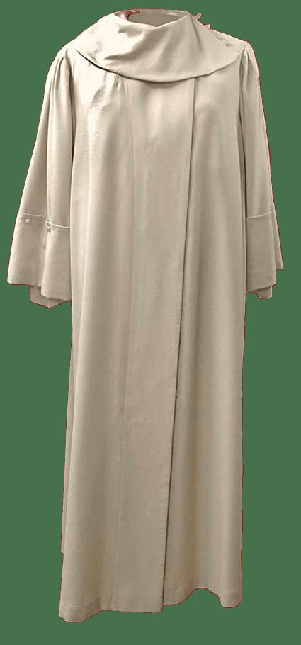 ambtskleed wit toga
